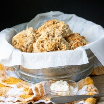 Vegan Gluten-Free Drop Biscuits